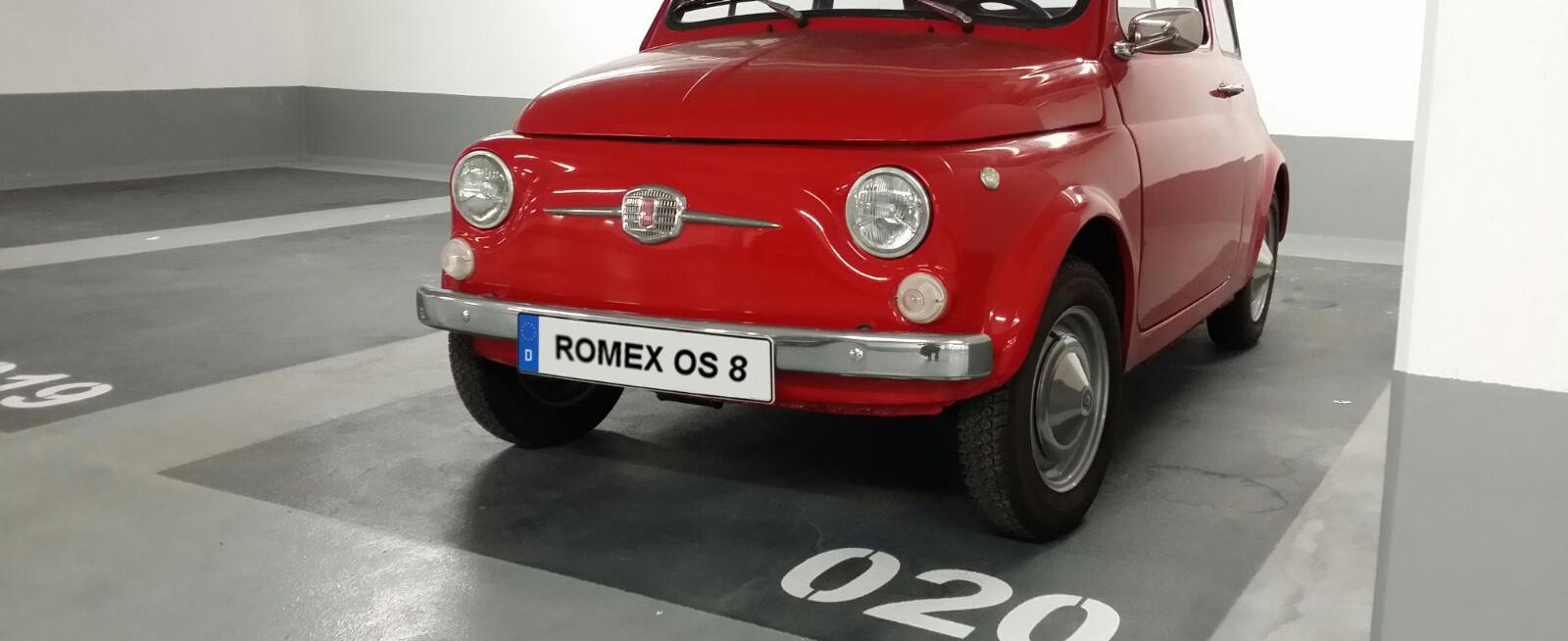 Das Oberflächenschutzsystem von Romex ist nach OS8 geprüft